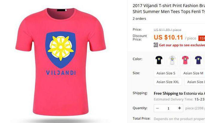23f581b02e3 Selline särk on müügil netipoes Aliexpress. Lisaks roosale on pakkumises  must, tumesinine ja valge. FOTO: Kuvatõmmis