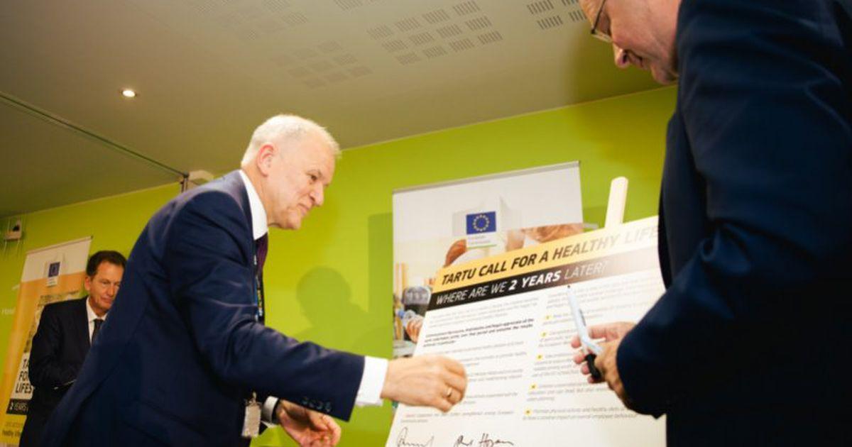 Tartu üleskutse hoogustab tervislike eluviiside edendamist üle Euroopa