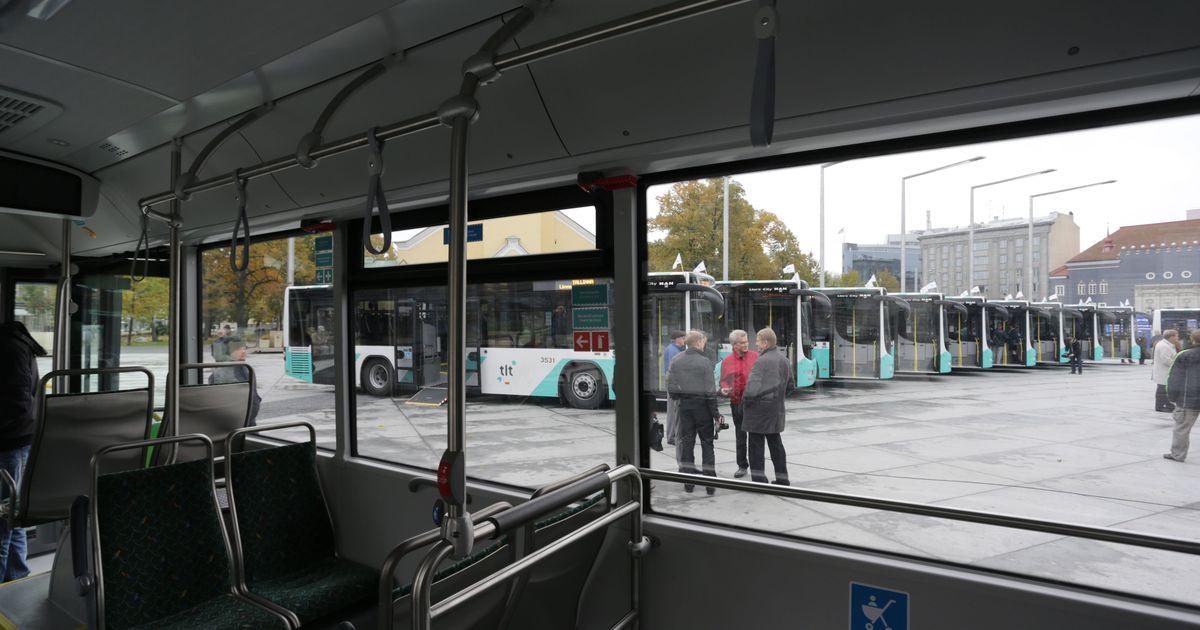 c424f20d3c8 Tallinn saab aasta lõpuks 40 uut bussi - Tallinn - Postimees: Värsked  uudised Eestist ja välismaalt