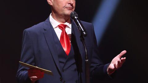 Eesti filmi- ja teleauhindade gala Alexela kontserdimajas. Raivo E. Tamm.