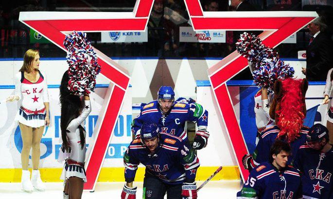 242083f9f46 Venemaine hokiliiga KHL on piisavalt särav, et endale meelitada Ilja  Kovaltšuk (keskel tagumine).