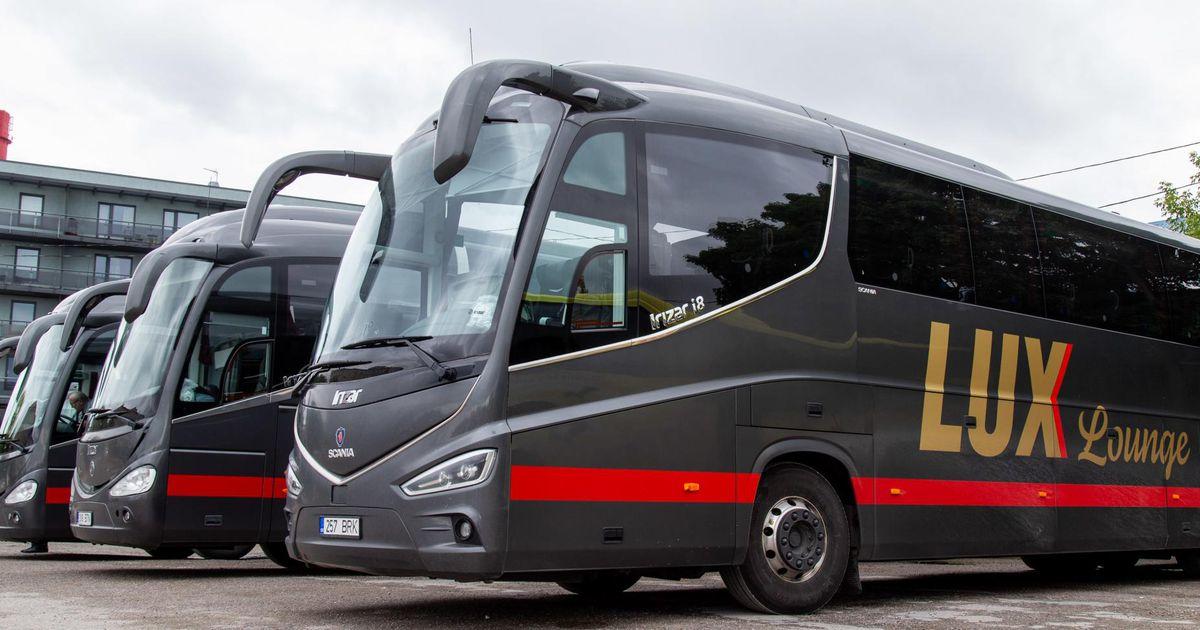 Lux Express sulgeb Tartu–Kuressaare bussiliini