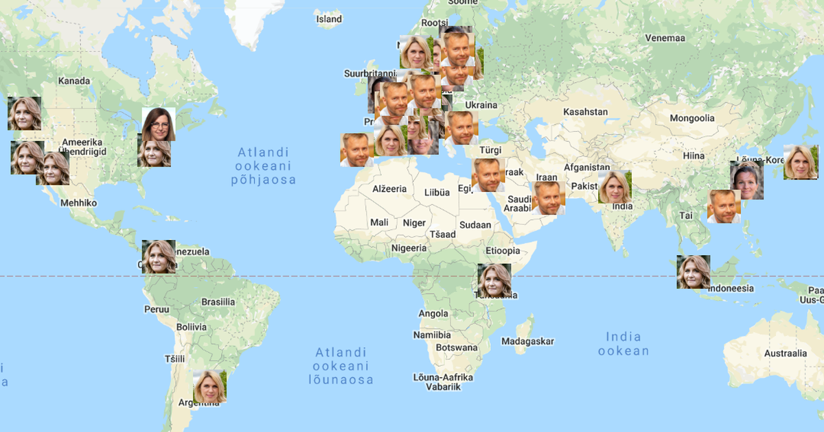 Kui palju käisid välismaal Kingo eelkäijad?