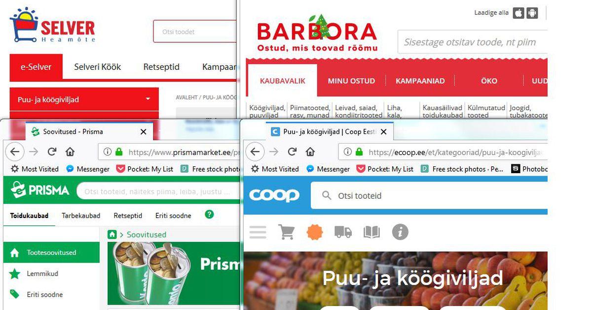 48ff8a07e62 Lugeja küsib: millal saavad ka Tartu piirkonna elanikud e-toidupoest kaupa  tellida? - Kaup ja teenus - Tarbija