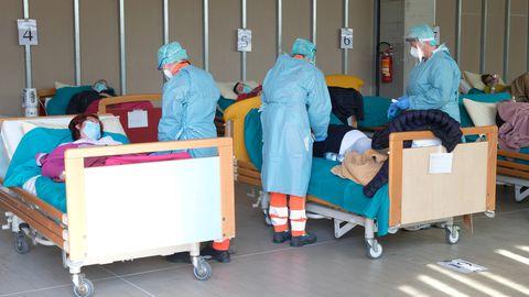 Itaalia haigla.