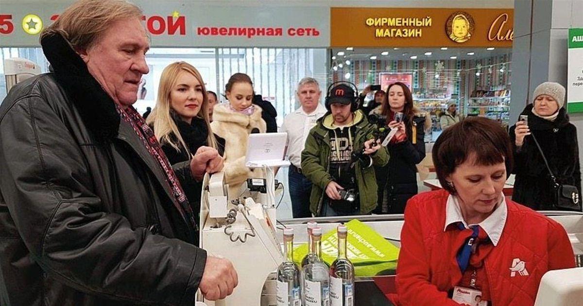 Der Spiegel: Gérard Depardieu õpetab venelasi tervislikult toituma